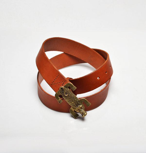 Belt with Leopard (Sole Inspiration)