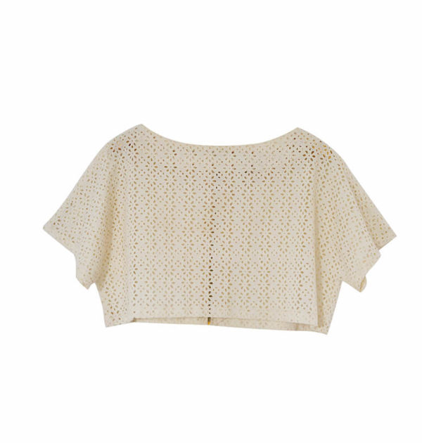 Lace Crop Top (Totally Ethnik)