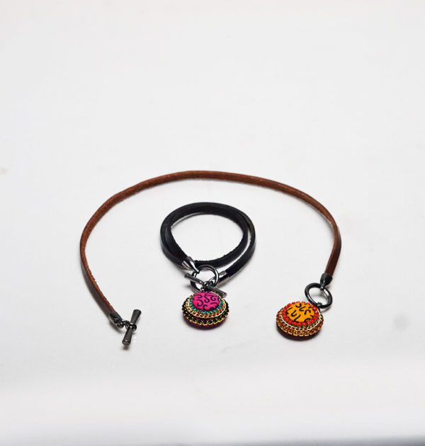 Leather Wrap Bracelet (Emma Bird)